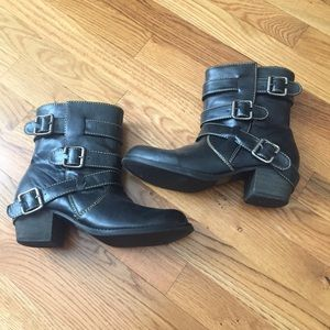 2 for $20 Three buckle Moto boots